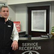 Service Writer Joe Huncken in Service & Parts at Toyota of Hackensack