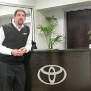 Shop Manager Louis Dragonetti in Service & Parts at Toyota of Hackensack