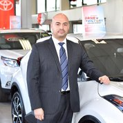 Finance Director Steve Escobar in Management at Toyota of Hackensack