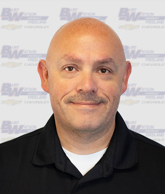 Sales & Leasing Professional Joel Evans in New Car Sales at Burt Watson Chevrolet