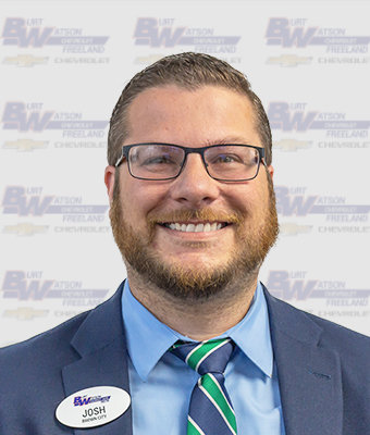 Used Car Manager Josh Wolfe in Pre-Owned Sales at Burt Watson Chevrolet