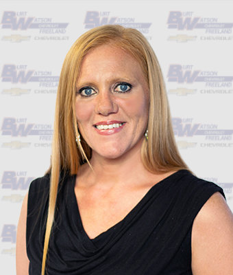 Business Development Center Manager DANA COOK in Business Development at Burt Watson Chevrolet