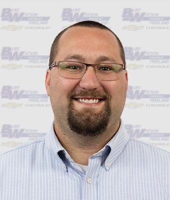 Marketing Manager JACOB MOODY in Marketing & Office at Burt Watson Chevrolet