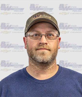 ASE Certified Master Technician GARY FALLSTICK in Service at Burt Watson Chevrolet