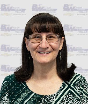 Title Clerk LAURA EBRAHIMI in Marketing & Office at Burt Watson Chevrolet