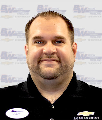 Assistant Service Manager DAVID SEVERANCE in Service at Burt Watson Chevrolet