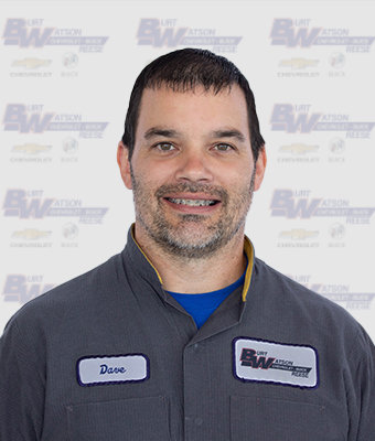 ASE Certified Technician DAVE NADOLNY in Reese Service at Burt Watson Chevrolet