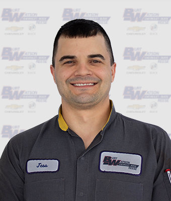 ASE Certified Master Technician JESSE NADOLNY in Reese Service at Burt Watson Chevrolet