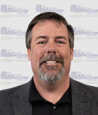Sales & Leasing Professional SCOTT DOUD in New Car Sales at Burt Watson Chevrolet