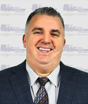 Fleet Sales Rep Ben Spreeman in New Car Sales at Burt Watson Chevrolet
