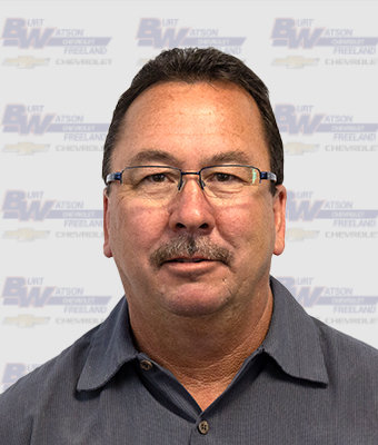Collision Technician KEVIN WACHOVIAK in Body Shop at Burt Watson Chevrolet
