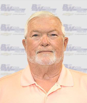 Inventory Specialist BOB HOLLINGSWORTH in New Car Sales at Burt Watson Chevrolet