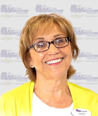 Office Staff MARY SOCHA in Marketing & Office at Burt Watson Chevrolet