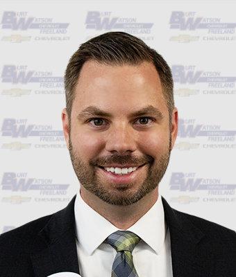 New Car Sales Manager Joe Rau in New Car Sales at Burt Watson Chevrolet