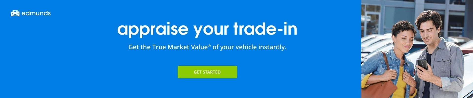 appraise your trade with edmunds