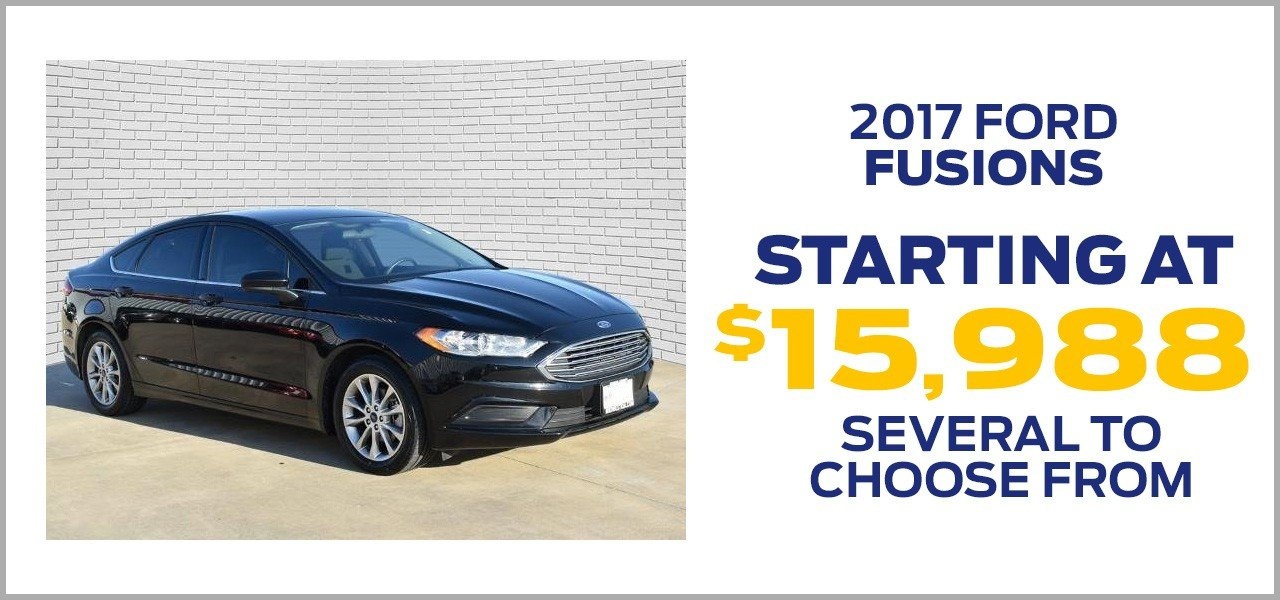 2017 ford fusions offer