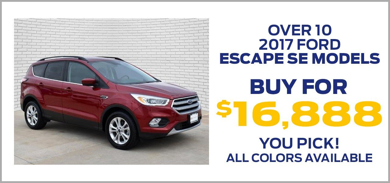 2017 ford escape se offer