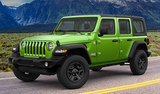 Special offer on 2019 Jeep Wrangler Unlimited 2019 JEEP WRANGLER JL UNLIMITED SPORT 4X4