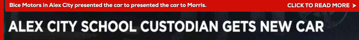custodian gets new car