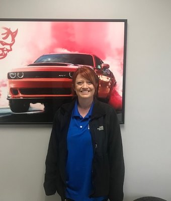Service Advisor Tabitha Kinder in Service at Bice Motors Inc