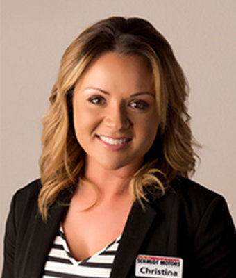 New Sales Christina Moore in Sales at Schmidt Motors