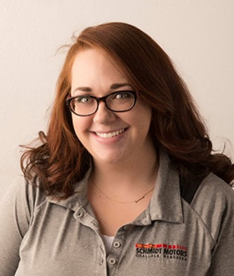 Accounts Payable/Receivable Meghann Lauts in Management at Schmidt Motors