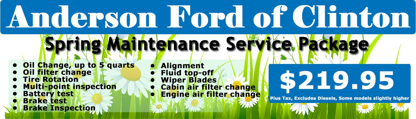 Spring Maintenance Service Package