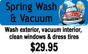 Spring Wash & Vacuum