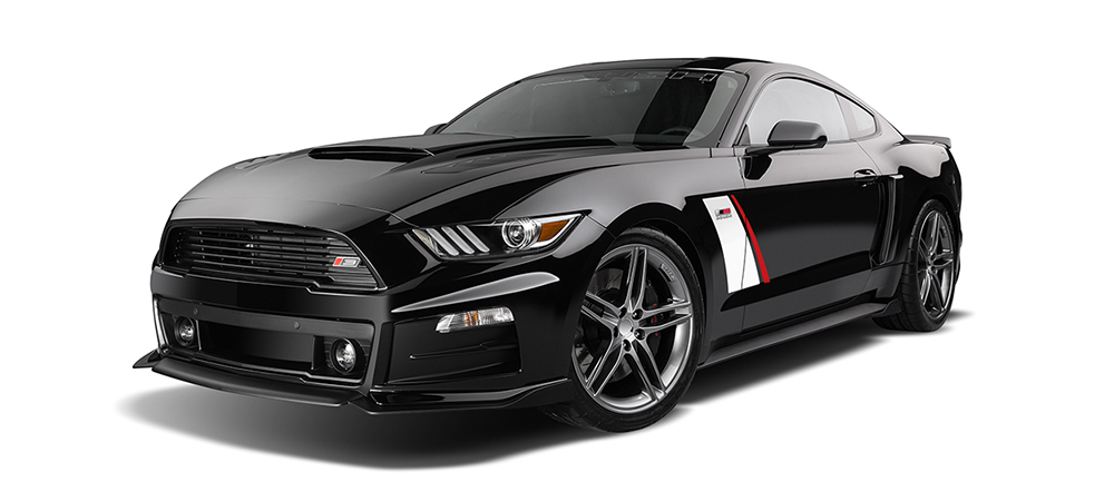 brand new black roush stage 3 performance mustang