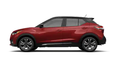 red nissan kicks