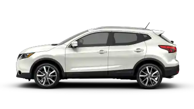 white nissan rogue sport