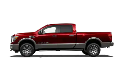red nissan titan xd