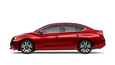 red nissan sentra
