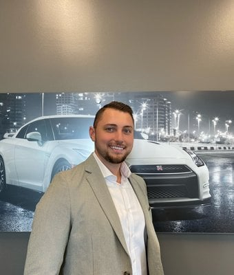Acquisitions Manager CHRISTIAN WEST in Management at Lokey Nissan