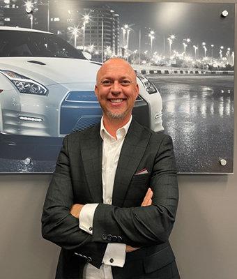 Finance Specialist Davy Ridout in Finance at Lokey Nissan