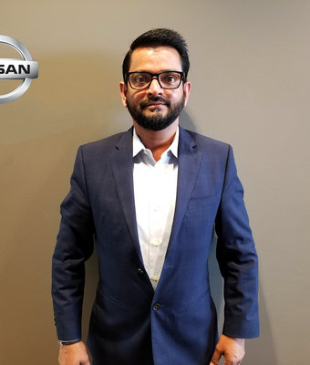 Finance JOE HOSSAIN in Sales at Lokey Nissan