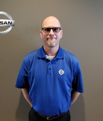 Service Advisor MATT KASPER in Service at Lokey Nissan