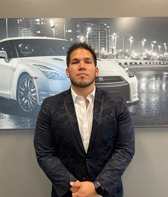 Sales Associate Juan Guerrero in Sales at Lokey Nissan