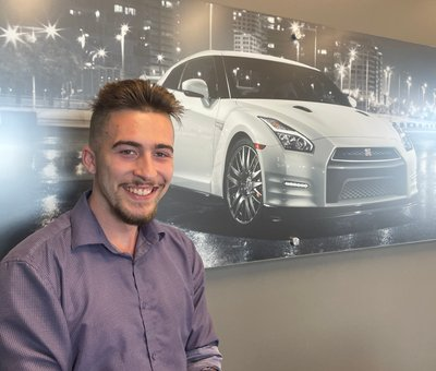 Sales Associate Alex Harger in Sales at Lokey Nissan