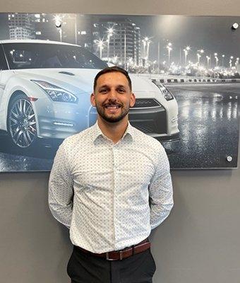 Sales Associate Mario Boskovic in Sales at Lokey Nissan