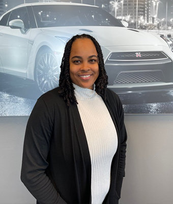 BDC Service Manager April Lopez in Service at Lokey Nissan