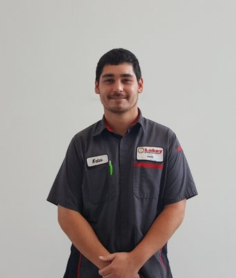 Service Technician KALEB K in Service at Lokey Nissan