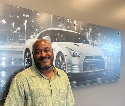 Sales Associate James Webb in Sales at Lokey Nissan