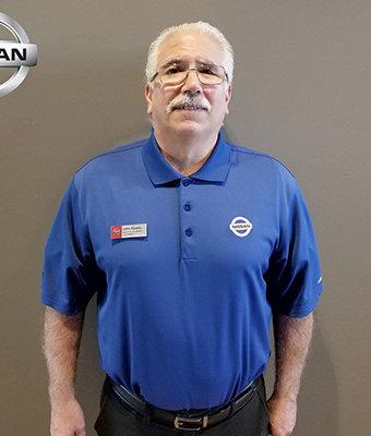 Service Advisor JOHN ALBANO in Service at Lokey Nissan