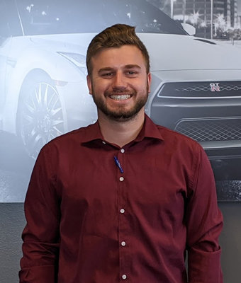 Vehicle Acquisitions Connor Lube in Sales at Lokey Nissan