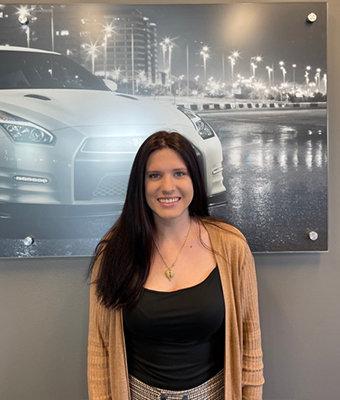 BDC Coordinator Kayla Maujean in Service at Lokey Nissan