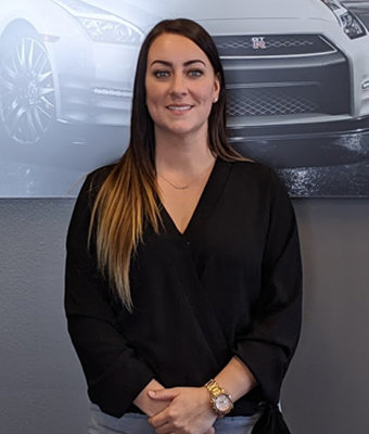 Acquisitions Manager Maegan Gerhart in Management at Lokey Nissan