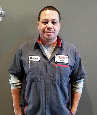 Service Technician MARIANO RUIZ in Service at Lokey Nissan
