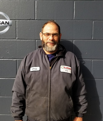 Service Technician CHRIS JONES in Service at Lokey Nissan