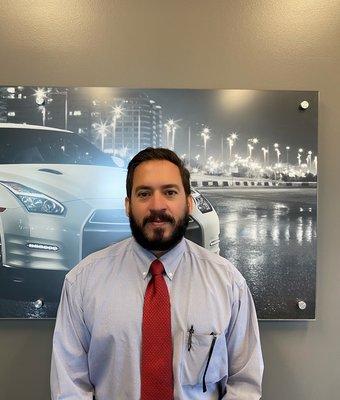 Sales Associate Luis Fragoso in Sales at Lokey Nissan